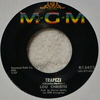 Lou Christie Trapeze 45 NM Vinyl Teen Original Issue Rhapsody in the Rain NICE