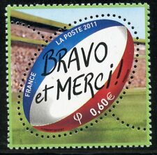 STAMP / TIMBRE de FRANCE NEUF N° 4612 ** SPORT / RUGBY COUPE DU MONDE 2011