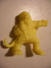 MATCHBOX panini Monster In My Pocket  n°43 The BEAST yellow neon jaune fluo