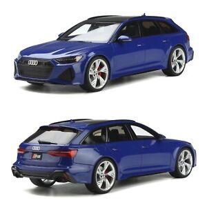 1/18 Gt Spirit Audi RS6 Front Nogaro Blue New Free Shipping Home December
