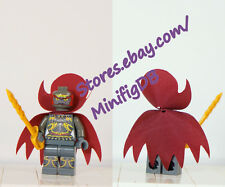 LEGO Custom Legend of Zelda minifig : Ganondorf with customized cape and sword