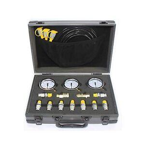 XZTK-60M Excavator Hydraulic Pressure Test Kit ,Hydraulic gauge,test coupling