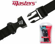 Masters Golf Trolley Webbing Straps x 2 Strong with Quick Release Clips