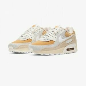 NIKE WOMENS US SIZE AIR MAX 90 DC5271-737 Beige for RUNNING UNISEX!