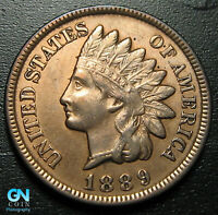1889 Indian Head Cent Penny  --  MAKE US AN OFFER!  #P8860