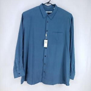 Axis Modern Coast Mens Button Up Shirt Size 3XT