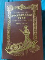 Easton Press The Adventures of Huckleberry Finn, Mark Twain, 1994 Collector's Ed