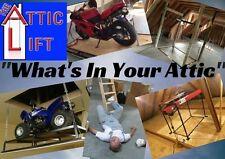 Attic Lift, Garage Lift, Garage Storage: The Attic Lift- 550lbs Platform Lift