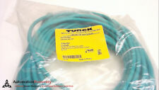 Turck Rj45 Rj45 440-15M, Ethernet Patch Cord/Double-End, U-07646, New #242855