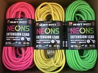New 20m Heavy Duty Power Extension Cable Lead Cord 20 Meters 10A AUS Standard.
