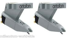 2 ORTOFON OMEGA TURNTABLE CARTRIDGES, Twin DJ Set, Hi-Fi PHONO Authorized Dealer