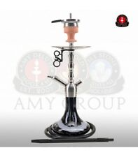 AMY Deluxe Shisha SS10 Little Hammer Wasserpfeife Klicksystem Hotscreen Schwarz