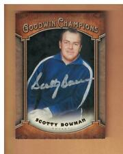 SCOTTY BOWMAN AUTOGRAPHED 2014 GOODWIN CHAMPS CARD SIGNED PITTSBURGH
