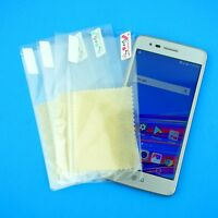 Quality Plastic Clear Screen Protectors w/ Cloth for LG Aristo 2 - SHIPS FAST!!!