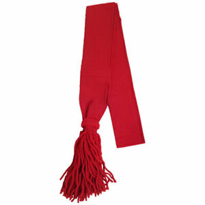 """Shoulder Sash Wool Red Guards Sergeants British Army Acrylic Sashes 32"""",34"""",36"""""""
