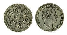 pcc1840_75) AUSTRIA 1/4 Florin 1858 A Franz Joseph I