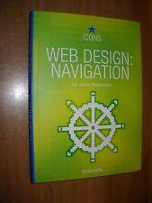 LIBRO - WEB DESIGN NAVIGATION.-TACHEN - ED.J.WIEDEMANN - NUOVO - 7 -