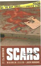 Autographed Warren Ellis Scars #1 Comic Book with COA