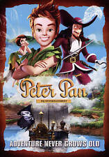 The New Adventures of Peter Pan, with Slip Cover, Brand New, Factory Sealed