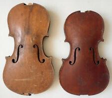 2 violons anciens violin violon A RESTAURER pour luthier ou collection