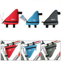 Bike Bicycle Triangle Frame Bag Cycling Front Tube Cycling Under Seat Pouch Bag