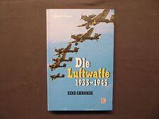 Buch, Die Luftwaffe 1933 - 1945, Eine Chronik, Motorbuch EA 1988, 2.Weltkrieg