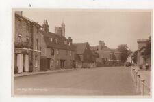 High Street Sevenoaks Kent Vintage RP Postcard 550b