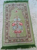 Islamic Prayer Rug Muslim janamaz Mat Turkish Quality Sajadah chenille FREE SHIP