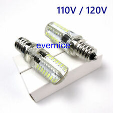 """2 PCS Light Bulb 110V 64 LED 7/16"""" Screw in for Babylock B15,B17 Elna 100 101"""
