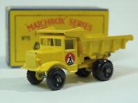 LESNEY MATCHBOX No 6b QAURRY TRUCK NMB IN B4 BOX