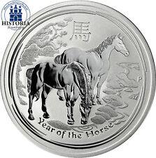 Australien 1 Dollar Silber 2014 Lunar II Serie: Silbermünze Jahr des Pferdes