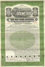 USA, The New York Central Railroad Company, Gold Bond, USD 1.000, 1913