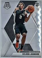 2019-20 Panini Prizm Mosaic Keldon Johnson Rookie Card RC NBA San Antonio Spurs