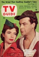 1956 TV Guide May 12 - Richard Greene-Robin Hood; Oscar Levant; Climax! 2 Clowns