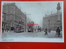 POSTCARD SHEFFIELD TRAMS -1905  NO 18 & 196 AT MOORHEAD