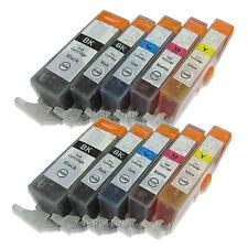 10 Pack PGI-220 CLI-221 Ink For Canon PGI220 CLI221 Pixma iP3600 iP4600 iP4700