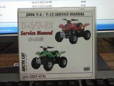 2006 Y-6/ Y-12 Service Manual p/n 2257-475