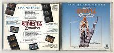 Cd ENNIO MORRICONE Nuovo Cinema Paradiso OTTIM Prima edizione 1990 OST Tornatore