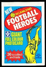 Scanlens 1982 Footy Heroes No. 5 Kevin Bartlett Unopened Packet Richmond MINT r