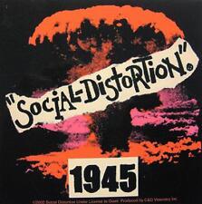 SOCIAL DISTORTION AUFKLEBER / STICKER # 16 - PVC