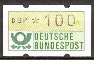BRD 1981 Automaten-Freimarke 100er Postfrisch (A16)