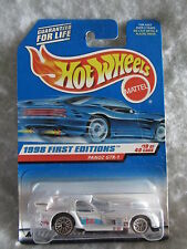 Hotwheels 1998 First Editions  Panoz  GTR-1  White   1:64 scale   NOC  w-12
