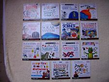 15 DORLING KINDERSLEY PC CD-ROM DISCS (FULL OF FUN AND KNOWLEDGE)