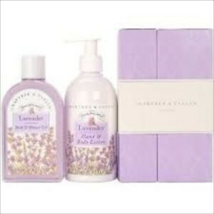 Crabtree & Evelyn LAVENDER Duo Set New without box