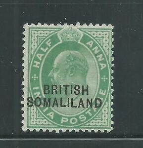 Somaliland Protectorate Scott # 21 MH Single