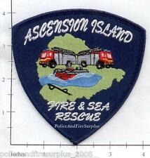 Ascension Island Fire & Sea Rescue Fire Dept Patch