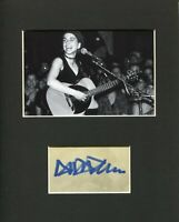 Ani DiFranco Righteous Babe Punk Folk Rock Singer Signed Autograph Photo Display
