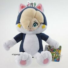 Super Mario Bros 3D World Cat Rosalina Princess Black Suit Plush Toy Soft Gift