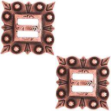 "2303SB-C28 1//2/"" Antique Copper Decorative Mini Traditional Berry Screw Conchos"