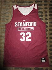 Stanford Cardinal #32 Basketball Ncaa Practice Game Worn nike Basketball Jersey